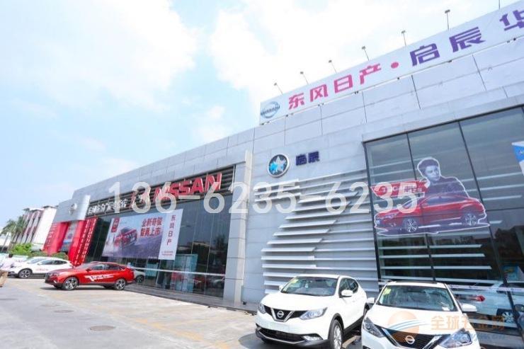 东风日产门头遮风挡雨大规格型材铝百叶4S店指定合作厂家