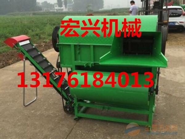 广东 大型花生摘果机 拖拉机带花生摘果机 自动装袋花生摘果机厂家