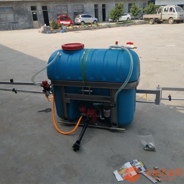 昌宁县四轮车拖拉机后悬挂打药机 皮带式拖拉机喷雾器参