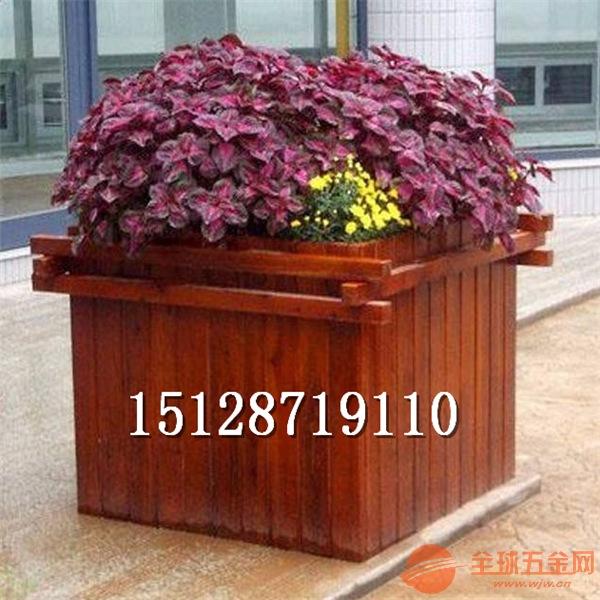 河北木制花盆,木制花箱图片,木制花盆厂家