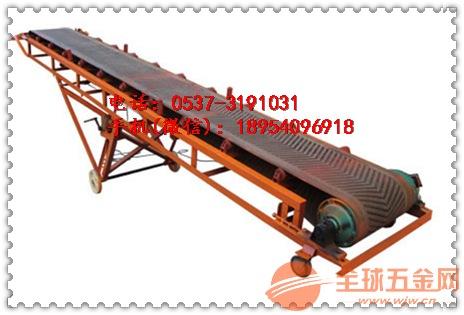 邢台复合肥散料槽型皮带输送机经久耐用