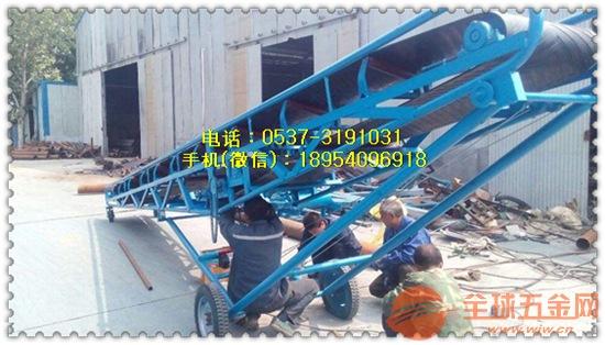 大倾角皮带输送机 袋装物料输送机 皮带式输送机