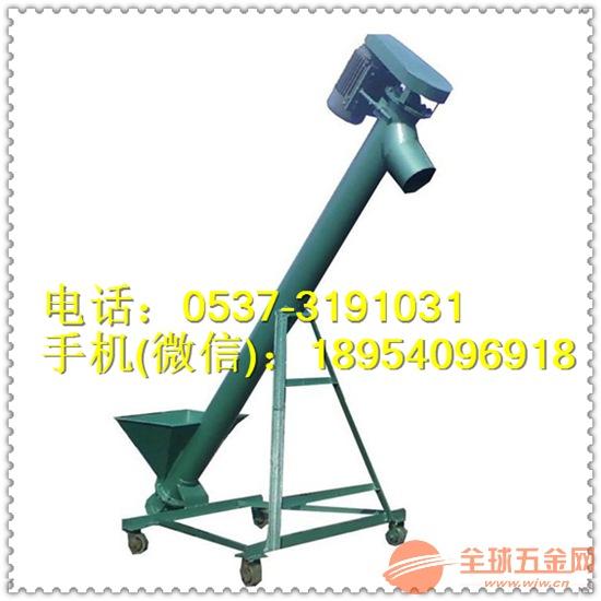 管式粉料螺旋提升机 不同管径螺旋提升机