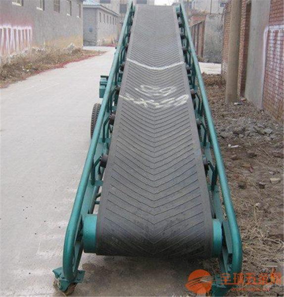 东营加护栏移动输送机