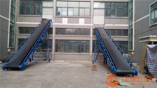 箱装货物入仓10米长皮带输送机厂家