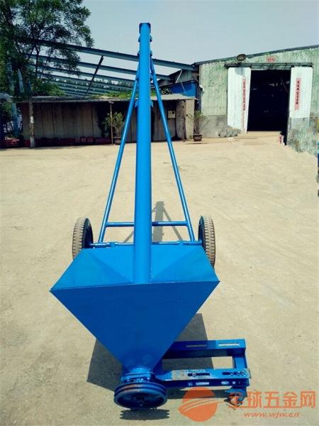 固定式绞龙提升机密封肥料装卸车绞龙