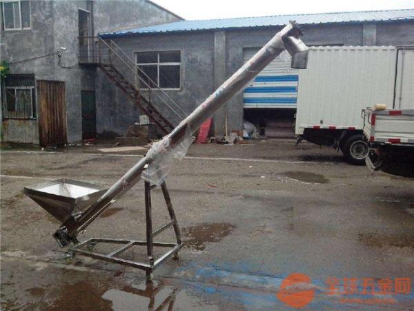 不锈钢防腐蚀螺旋提升机移动式螺旋提升机厂家