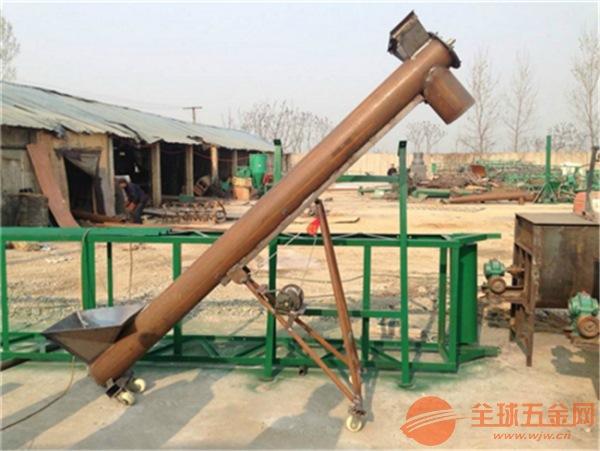 碳钢圆管提升机 干粉物料管式提升机