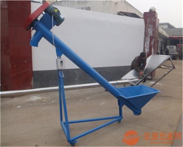 高效节能螺旋提升机 化工粉末旋转式提升机