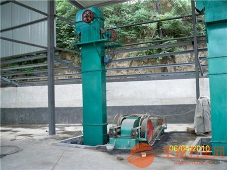 焊接钢斗提升机 高粱瓦斗式垂直上料机