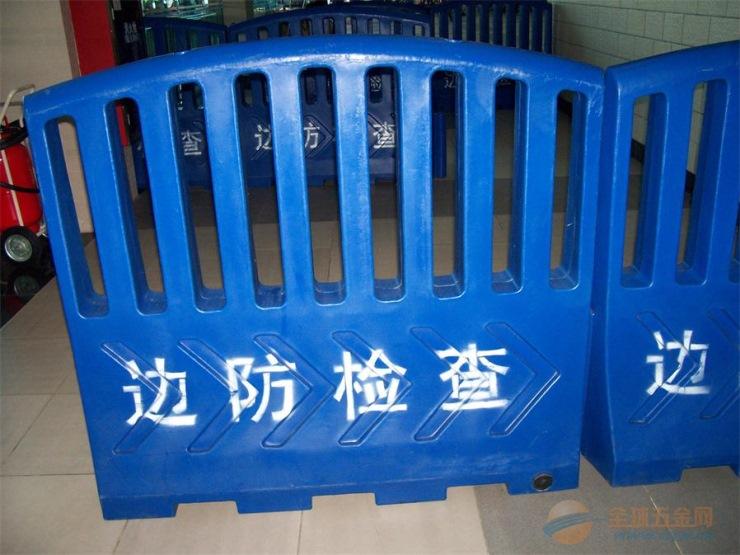 塑料水马围栏