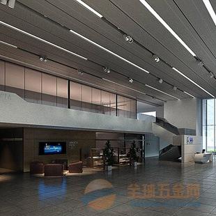 广汽新能源4S店冲孔铝板_铝格栅装饰材料合作徐州市厂