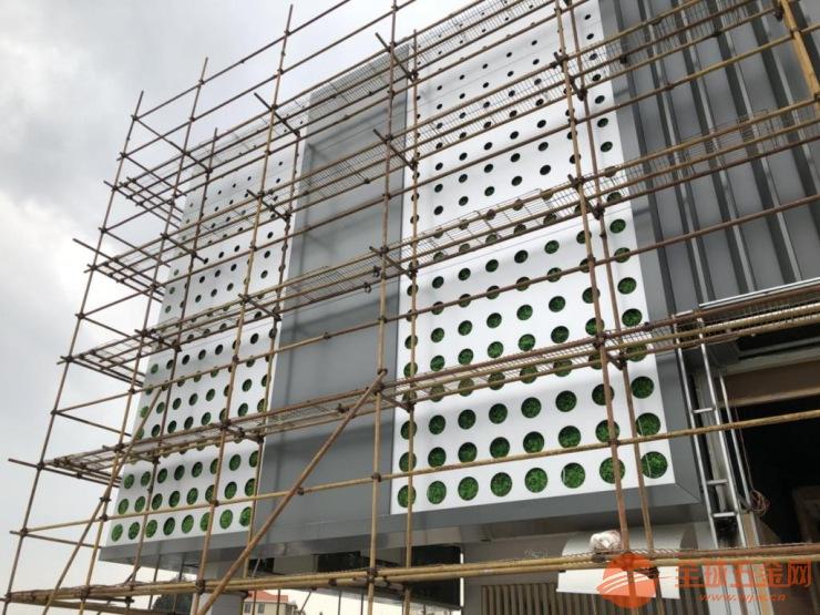 广汽新能源4S店冲孔铝板_铝格栅装饰材料合作厂家