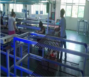 格栅屏生产车间