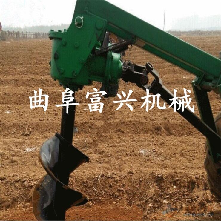 连云港果园栽树苗钻坑机使用灵活葡萄园立柱埋桩打眼机