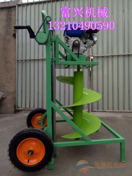 安徽省 不用手扶框架式挖坑机苗木植树挖坑机价格