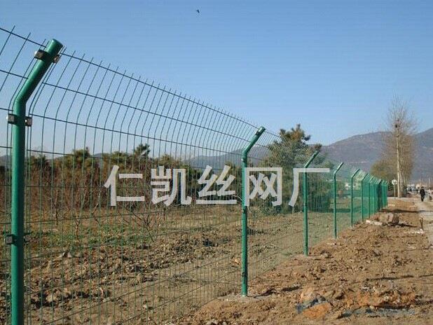 遵化施工区绿色护栏网