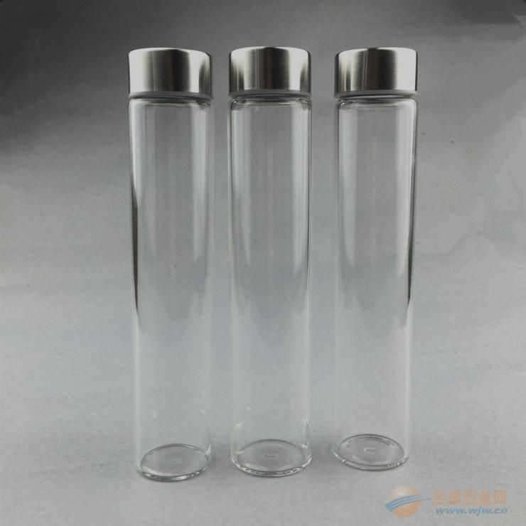 專業管子玻璃杯 玻璃水瓶加工定制果汁杯 飲料玻璃容器定制
