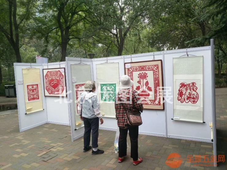 北京学校画展展板布置搭建展墙租赁 展览画展展架出租