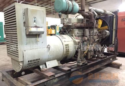 广州发电机回收买卖