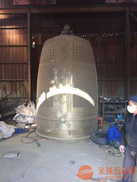 济南市造铜钟厂家定制批发寺庙铜钟铁钟青铜钟