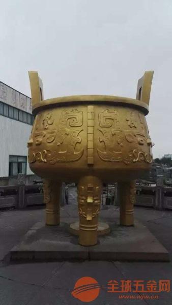 河南青铜鼎厂家专业定制及时交货