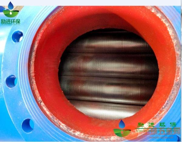螺旋排气集污器