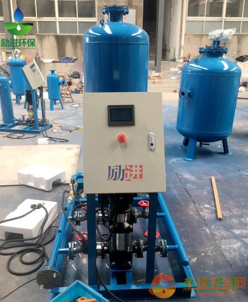 变频定压补水排气机组使用效果