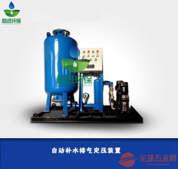 变频定压补水排气机组如何安装