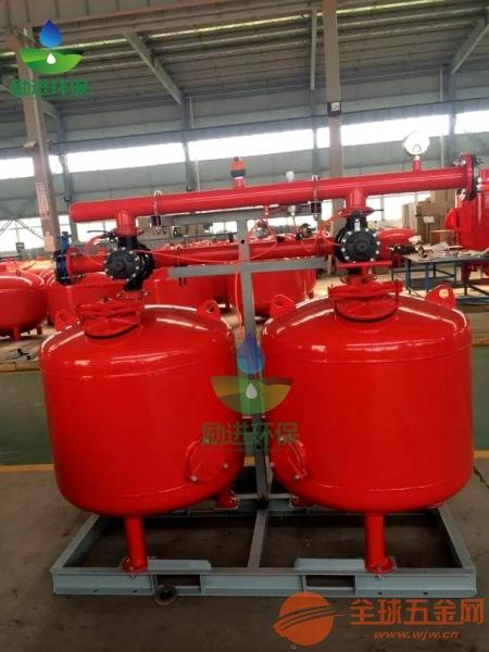 灌溉用砂石加网式过滤器详细配置