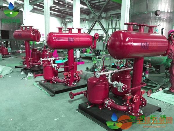 机械式气动凝结水回收泵图纸