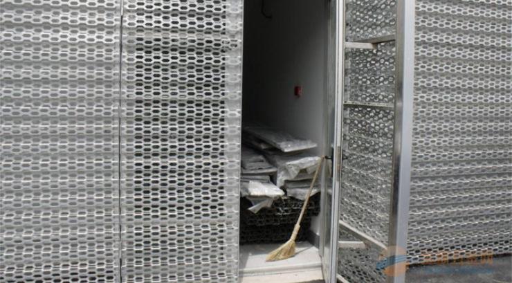奥迪4店外墙冲孔长城板