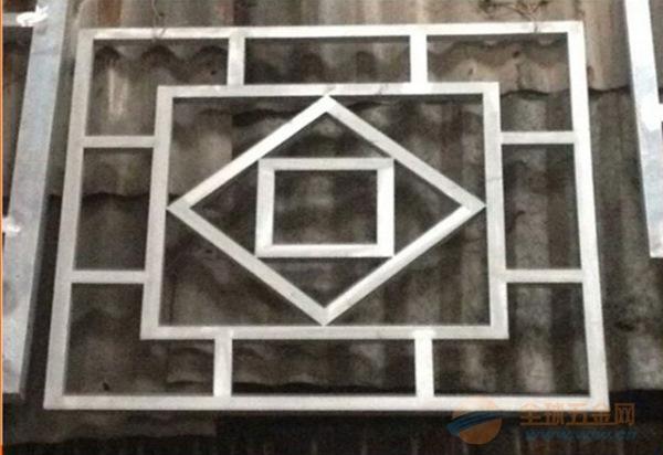 金属建材---中式仿古铝窗花