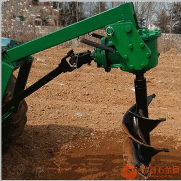 佛山手摇架子款打洞机螺旋坚固型挖坑机