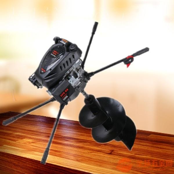 手提植樹挖坑機 拖拉機帶鉆眼機設備
