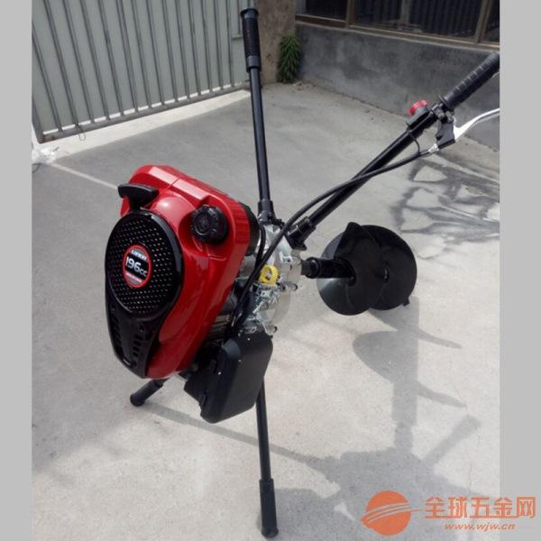 天津新型栽树挖坑机 好操作挖坑机