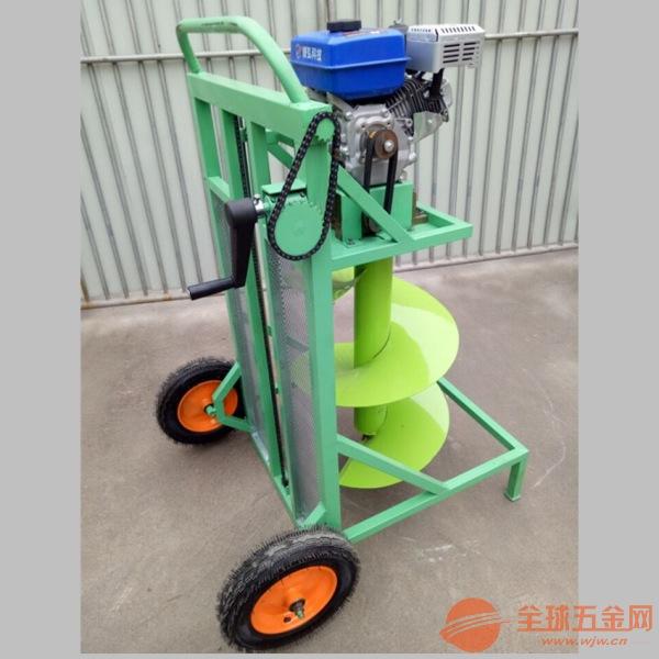深圳汽油手提式钻孔机 手推挖坑机