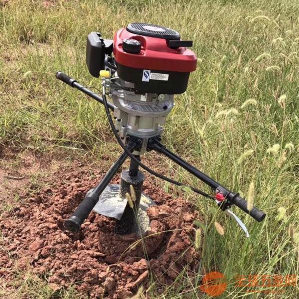 包頭小型腳踩挖坑機雙人螺旋挖坑機