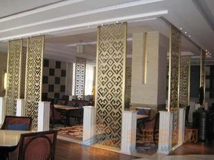 餐厅用铝挂落 铝合金挂落型材