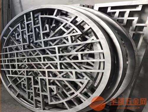 广东订做铝合金花格_铝合金中式花格价格_铝窗花隔断厂