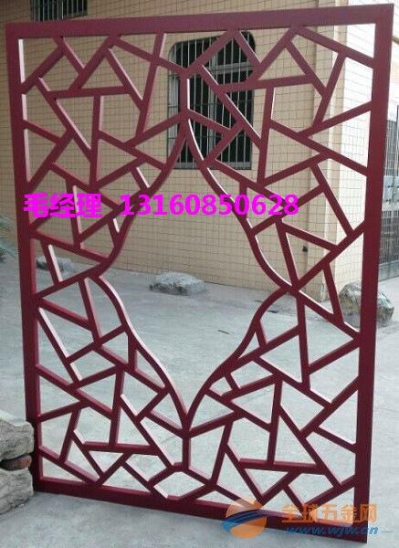 凉亭焊接铝窗花厂家专业化的制造技术