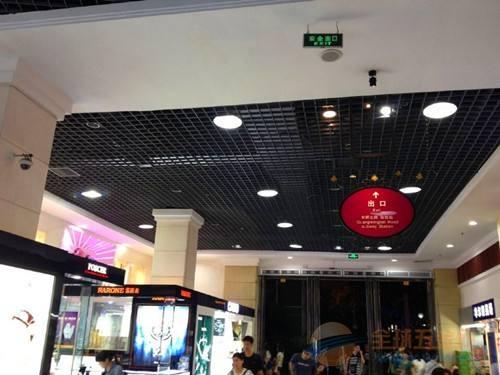 广东铝格栅吊顶