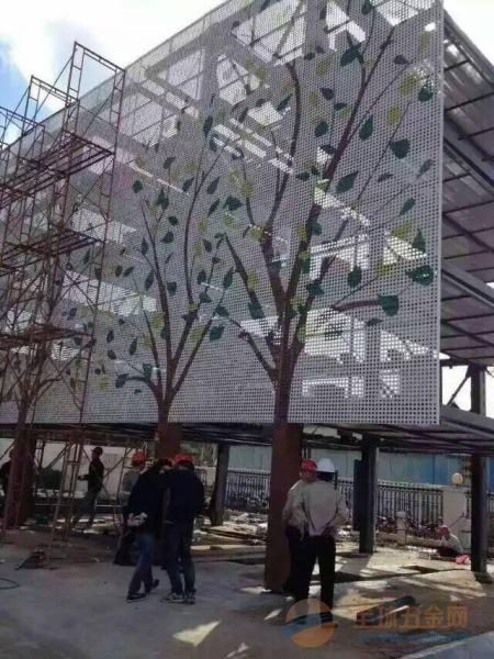 雕花铝单板写字楼外墙雕花铝单板厂家直销