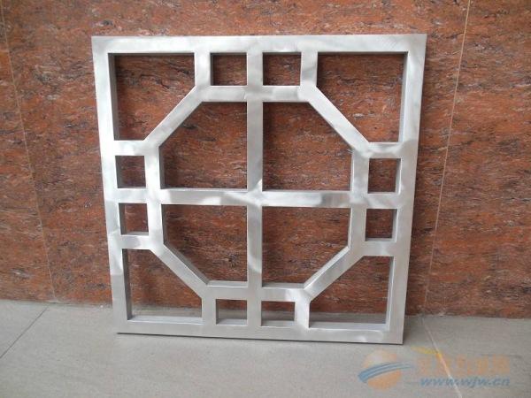 盘锦市别墅屏风隔断装饰中式铝窗花厂家出售