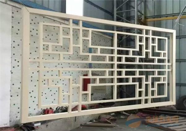 古典铝屏风窗花-铝隔断屏风厂家销售