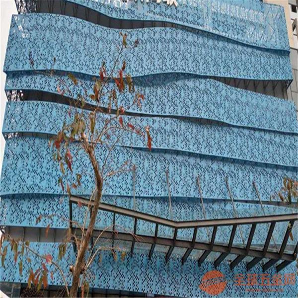雕花铝单板写字楼大堂雕花铝单板广东德普龙建材