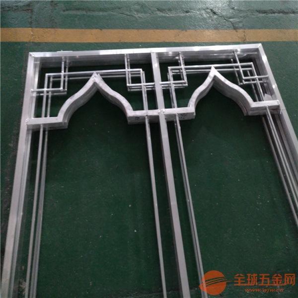 木纹铝窗花仿古铝窗花生产厂家
