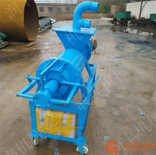 商城县自带抽粪泵的分离机 商城县药渣干湿分离机