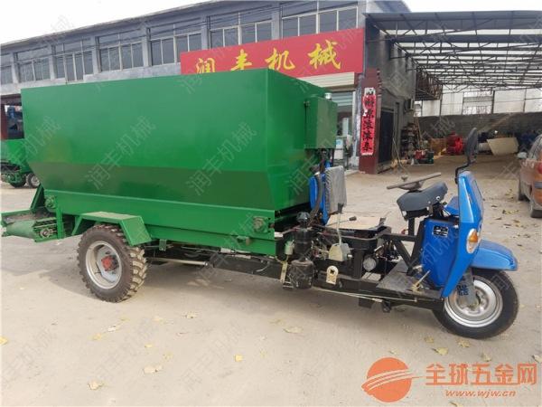 饲料撒料车生产厂家 阿合奇县饲养场自动喂料车
