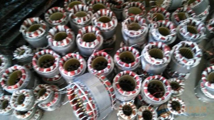 出售宏达振动电机配件/电机定转子/电机压盖
